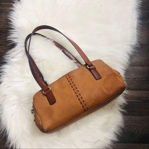 Fossil vintage leather handbag ‼️❤️